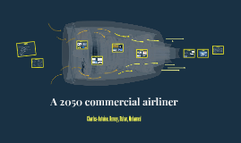 A 2050 commercial airliner