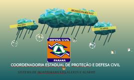 COORDENADORIA ESTADUAL DE PROTEÇÃO E DEFESA CIVIL