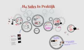 H4 Sales In Praktijk