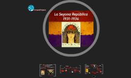 La Segona República 1931-1936