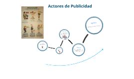 Los Actores de la Publicidad