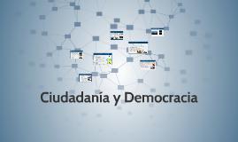 Ciudadanía y Democracia