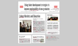 Using talent development strategies to improve employability