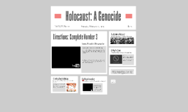 Holocaust: A Genocide