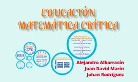 Copy of Educación Matemática Crítica