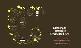 Copy of Cuestionario Factorial de Personalidad 16PF