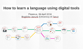 How to learn a language using digital tools