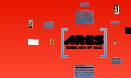 Ares, Greek God of war.