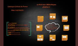 Prêt Inter-Bibliothèques du CCFr - présentation aux usagers