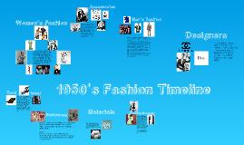 Fashion Timeline-50's
