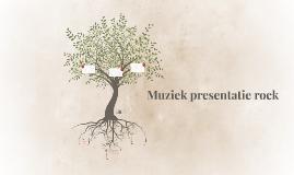 Muziek presentatie rock