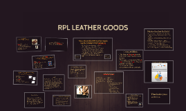 RPL LEATHER GOODS