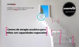 Copy of Centro de terapia acuatica para personas