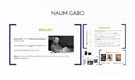 Copy of NAUM GABO