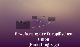 Erweiterung der Europäischen