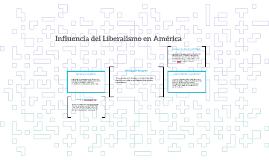 Influencia del Liberalismo en América