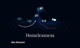 Copy of Homelessness