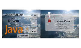 Automate your Cloud Deployments using Java