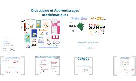Didactique et Apprentissages mathématiques