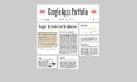 Google Apps Portfolio