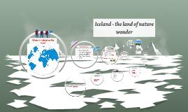Iceland - the land of nature wonder