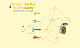 Service: Our Key Community