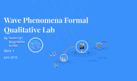 Wave Phenomena Lab