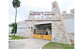 LEGISLAÇÃO TÉCNICAINSTRUTOR:  2º Sgt PEREIRA