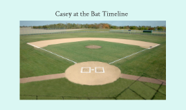 Copy of Casey at the Bat Timeline