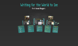Copy of Writing for the World to See