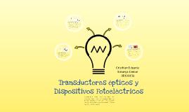 Transductores ópticos y dispositivos fotoelectricos