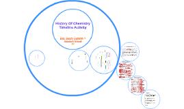 History Of Chemistry Timeline Activity