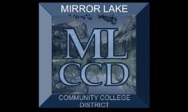 Mirror Lake CCD