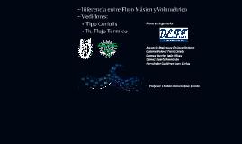 Diferencia entre Flujo Másico y Volumetrico