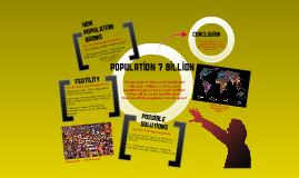 Copy of Population 7 Billion