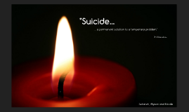 Suicide: Risk and Protective Factors