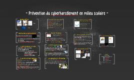 Prévention cyberharcèlement et EMI