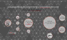 Las geopoliticas del conocimiento y colonialidad del poder