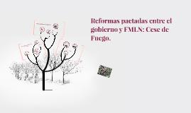 Copy of Reformas pactadas entre el gobierno y FMLN: Cese de Fuego.