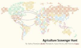Agriculture Scavenger Hunnt