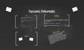 Funciones Polinomiales