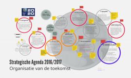 strategische agenda 2016
