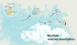 Cours 8: Résultats - Analyses descriptives