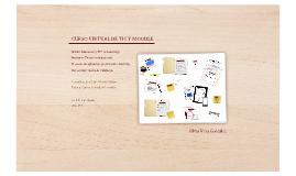 Proyecto: Curso virtual TIC y Moodle