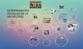 DETERMINANTES SOCIALES DE LA SALUD (DSS)