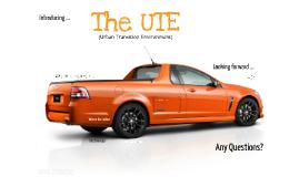 The UTE