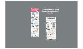 """""""Infografía de los datos duros al impacto visual"""" Piktochart"""