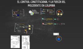 CONTROL CONSTITUCIONAL Y  VALOR DEL PRECEDENTE