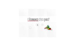 Définition de l'économie - PDC