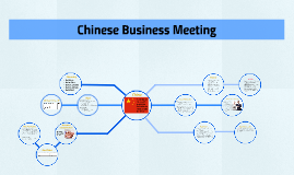 Chinese Business Meeting